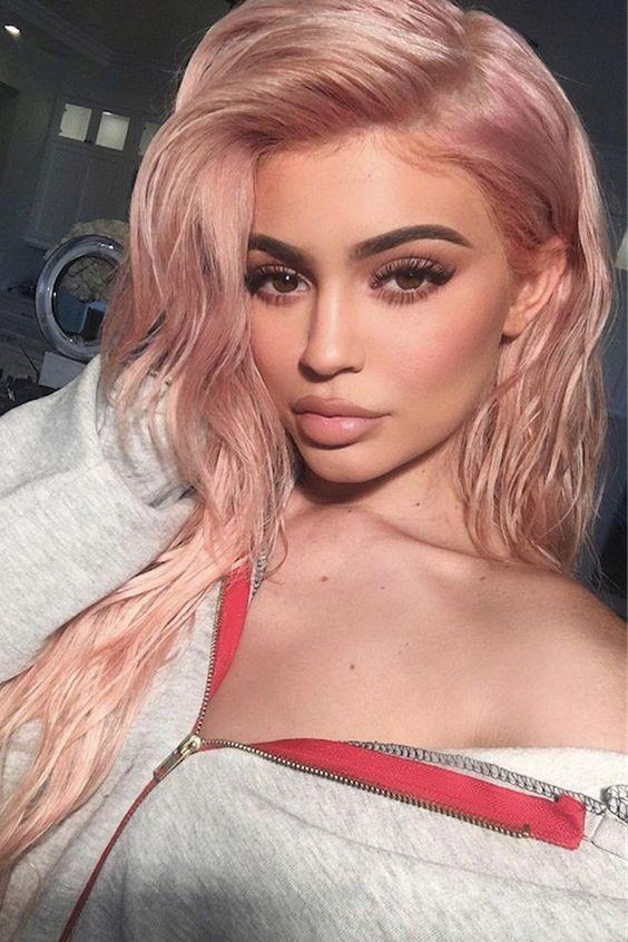 TRENDALERT , ROSE GOLD HAIR