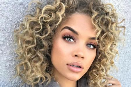 jasmine sanders curls