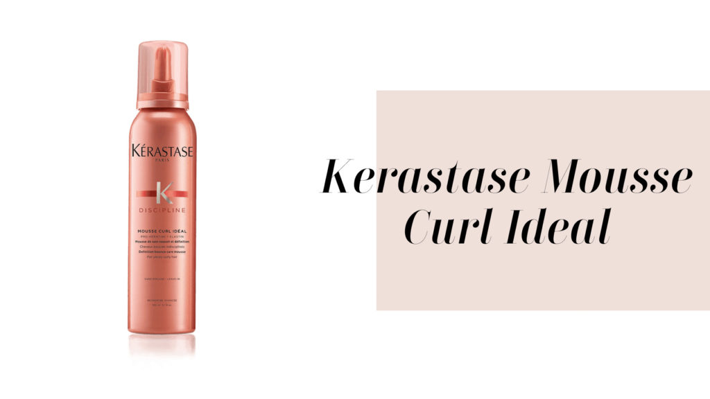 kerastase mousse curl to enhance el natural