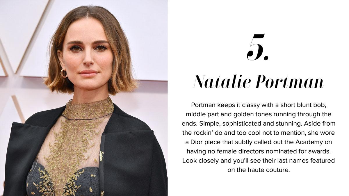 Natalie Portman - Oscars Hairstyle