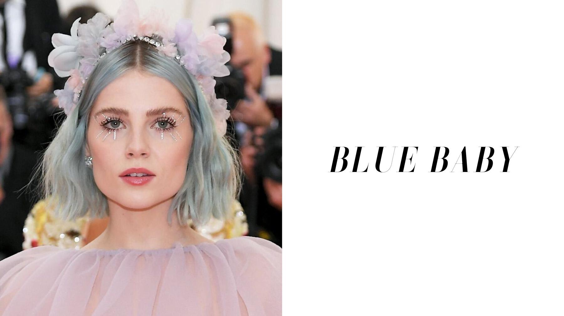 Blue Baby - shake up your colour with Oscar Oscar Salons