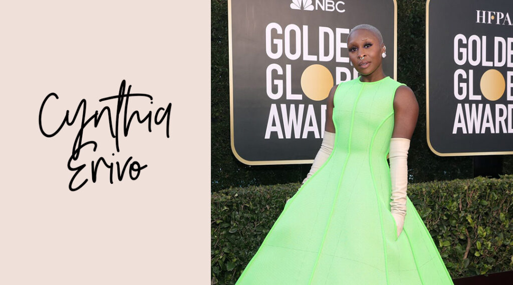 Cynthia Erivo Golden Globes