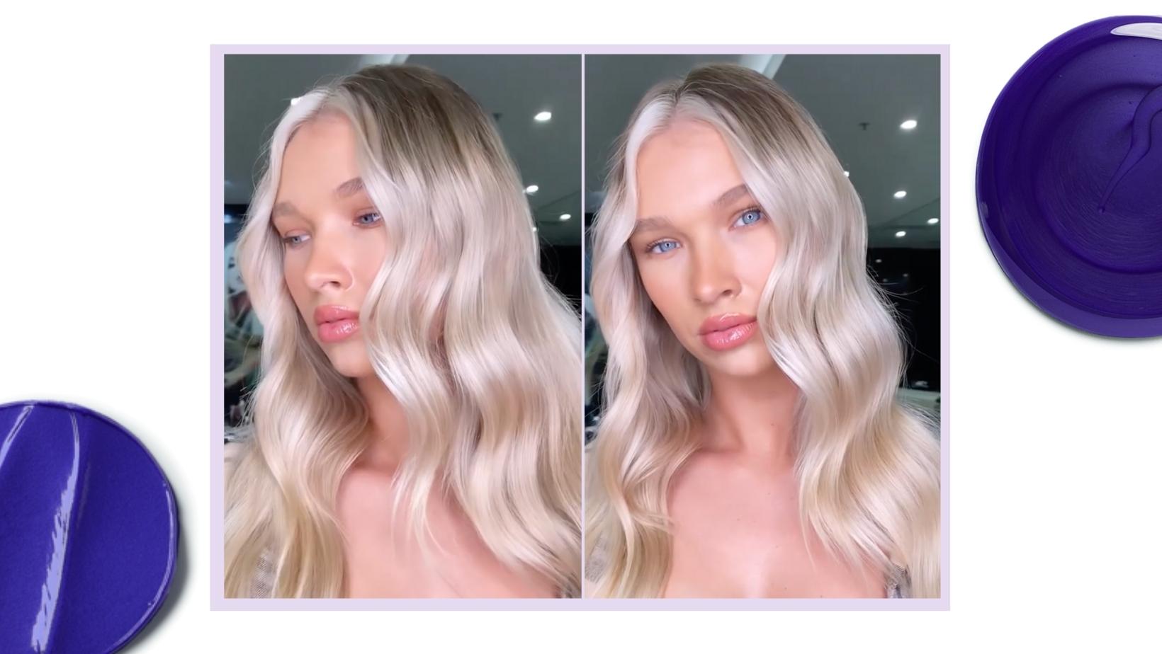 blonde hair cool tones