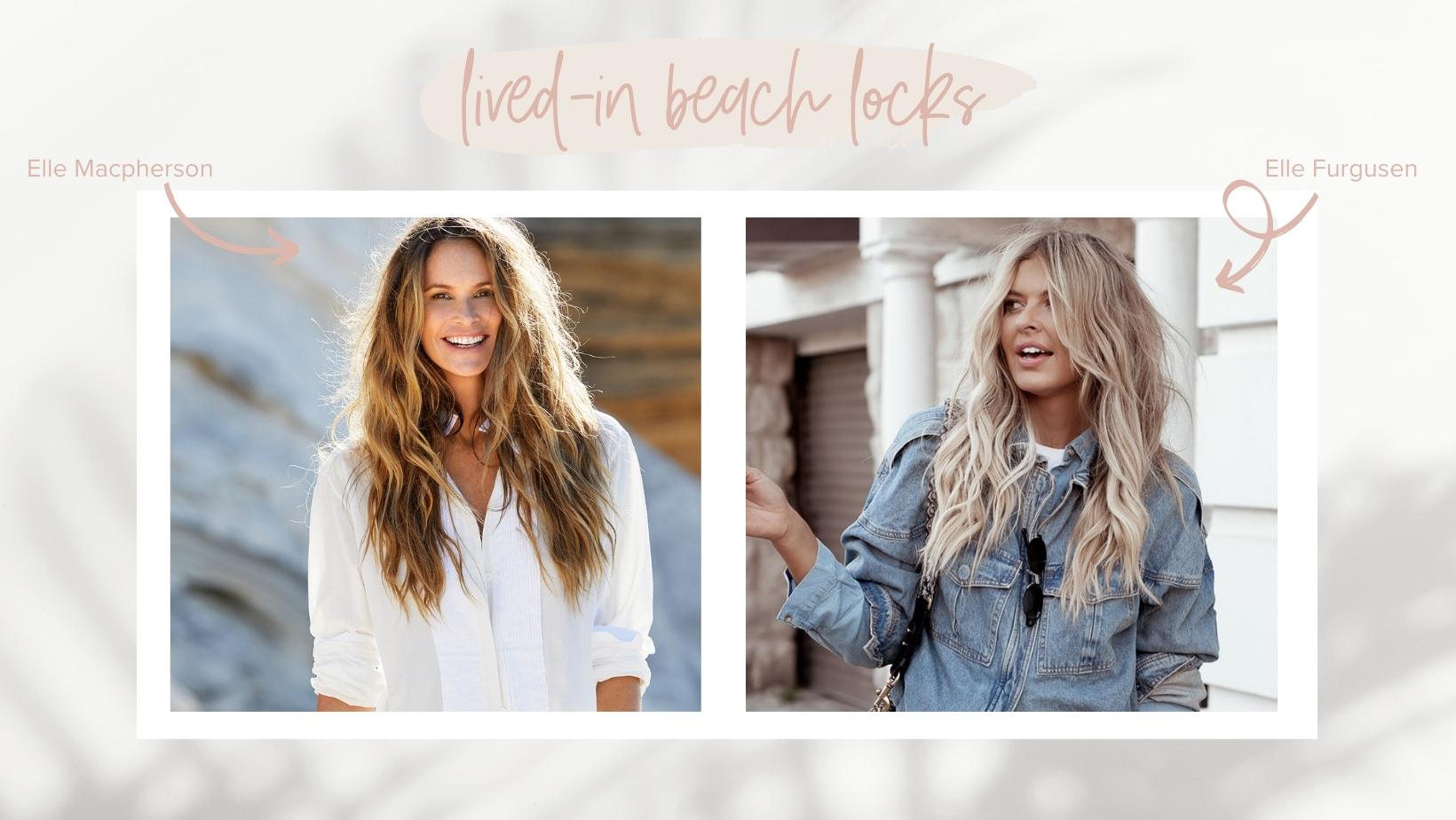 beach blonde hair